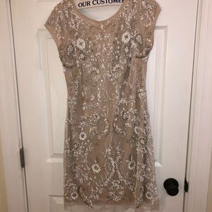 Sequin Aidan Mattox Party Dress
